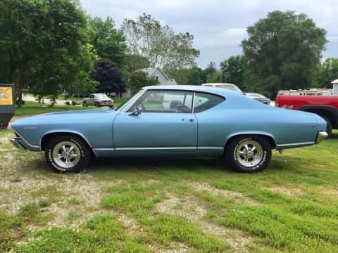 1969 Chevy Chevelle classic for sale Guthrie Center, IA - stock number 4029