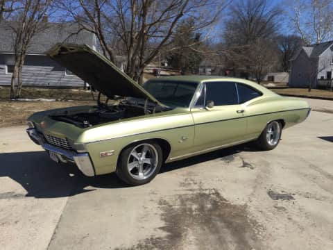 1968 Chevy Impala classic for sale Guthrie Center, IA - stock number 3994
