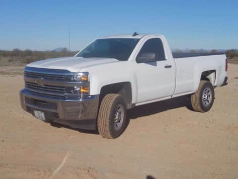 2015 Chevy Silverado 2500 Reg Cab Long Bed 4x4 Auto 6.0 V8 truck for sale Exira, IA - stock number 3987