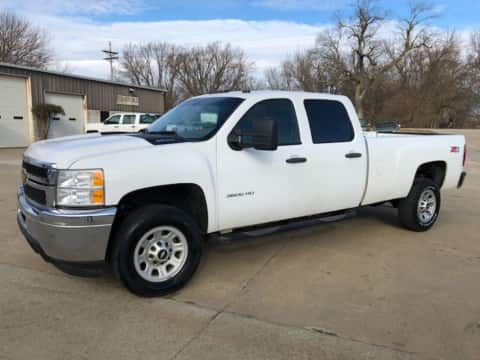 2014 Chevy Silverado 3500 SRW Crew Cab Long Bed 4x4 Auto Diesel truck for sale Exira, IA - stock number 3947