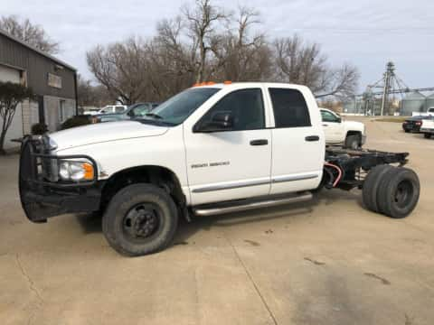 2004 Dodge Ram 3500 Quad Cab Dually 4x4 Auto  Diesel truck for sale Exira, IA - stock number 3932