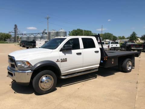 2014 DodgeRam 4500 crewcab 4x4 diesel truck for sale Exira, IA - stock number 3968