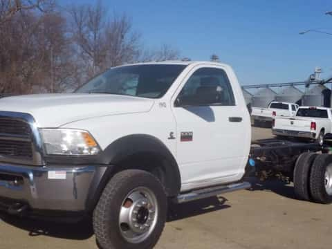 2012 DodgeRam 5500 Reg Cab 4x4 Auto Diesel truck for sale Exira, IA - stock number 3954