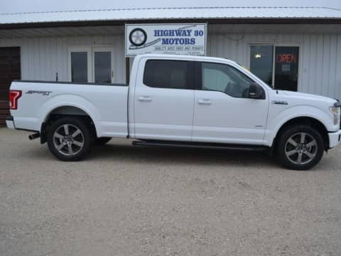 2016 FORD F150 truck for sale Glidden, IA - stock number 4032