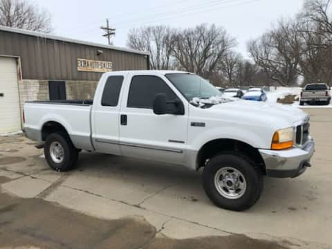 2000 Ford 7.3 powerstroke F250 Supercab 4x4 truck for sale Exira, IA - stock number 3974