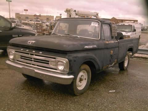 1962 Ford  F100 truck for sale Exira, IA - stock number 4004