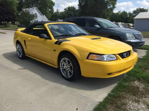 1999 Ford Mustang GT Convertible car for sale Guthrie Center, IA - stock number 3907