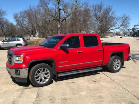 2014 GMC Sierra 1500 Crew Cab Leather 4x4 Auto V8 truck for sale Exira, IA - stock number 3991