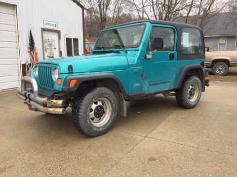 1997 Jeep Wrangler suv for sale Any Town, IA - stock number 3813