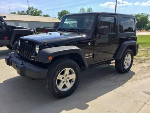 2012 Jeep Wrangler suv for sale Any Town, IA - stock number 3828