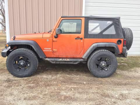 2011 Jeep Wrangler suv for sale Guthrie Center, IA - stock number 3879
