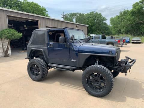 2004 Jeep Wrangler truck for sale Exira, IA - stock number 4027