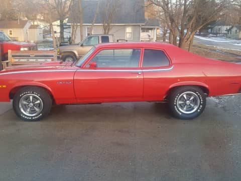 1974 Pontiac Gto classic for sale Guthrie Center, IA - stock number 3876