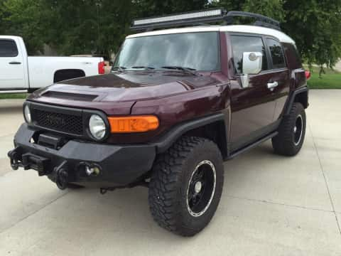 2007 Toyota FJ Cruiser suv for sale Any Town, IA - stock number 3789