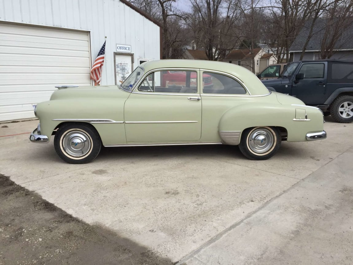 1951 Chevy Deluxe For Sale 9900 Sample Dealer Any Town Iowa 2 Door Sedan Powerglide