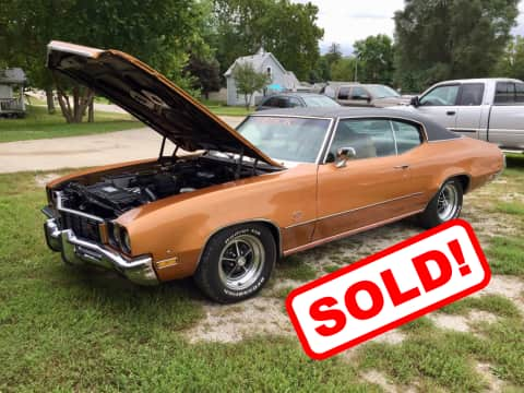 1972 Buick GS classic for sale Guthrie Center, IA - stock number 3910