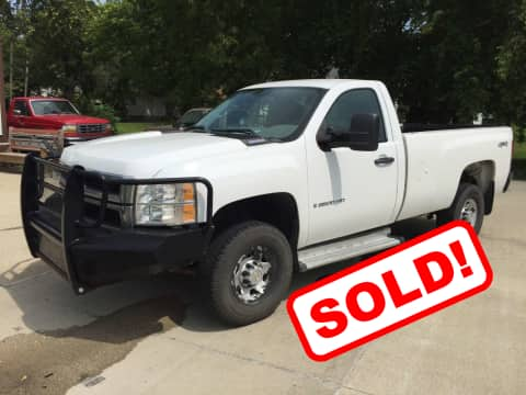 2009 Chevrolet Silverado 2500HD truck for sale Guthrie Center, IA - stock number 3852