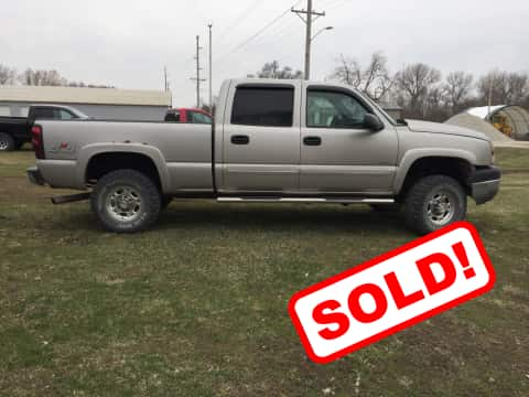 2005 Chevy 2500 HD truck for sale Guthrie Center, IA - stock number 3883