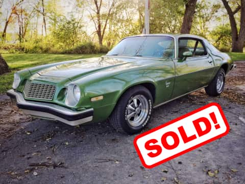 1974 Chevy Camaro 350 car for sale Guthrie Center, IA - stock number 3866