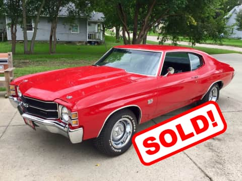 1971 Chevy Chevelle classic for sale Guthrie Center, IA - stock number 3909