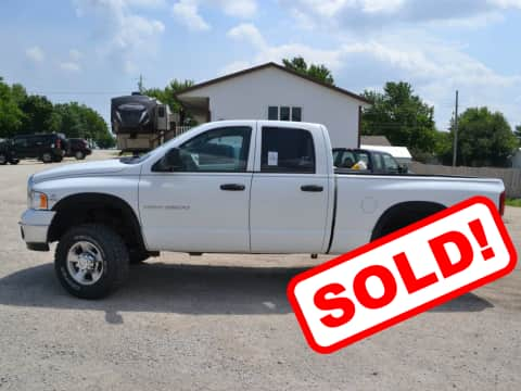 2005 Dodge Ram 2500 truck for sale Glidden, IA - stock number 3894