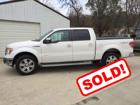 2012 Ford F150 truck for sale Guthrie Center, IA - stock number 3870