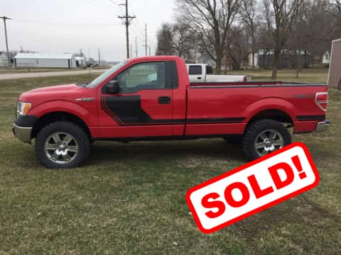 2010 Ford F150 XL truck for sale Guthrie Center, IA - stock number 3882