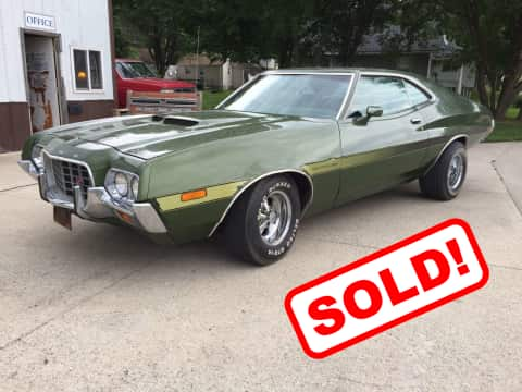 1972 Ford Gran Torino classic for sale Guthrie Center, IA - stock number 3906