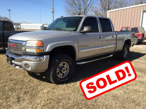 2005 GMC 2500 HD Crew Cab Truck truck for sale Guthrie Center, IA - stock number 3878