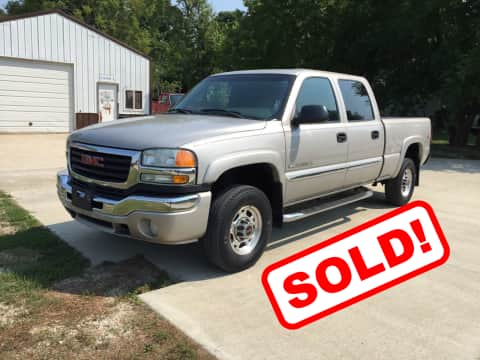 2005 GMC Sierra 2500HD truck for sale Guthrie Center, IA - stock number 3850