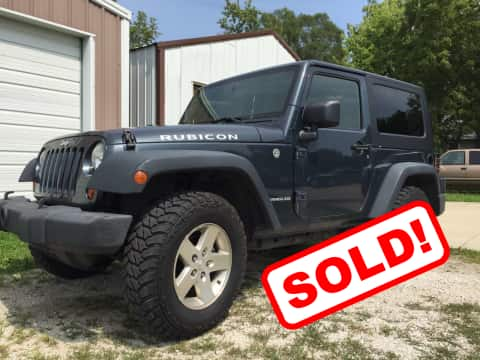 2008 Jeep Wrangler suv for sale Guthrie Center, IA - stock number 3853