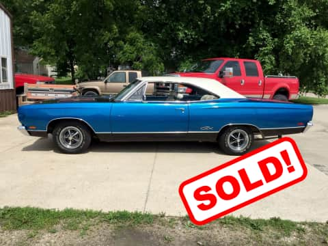 1969 Plymouth Satellite  classic for sale Guthrie Center, IA - stock number 3905