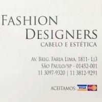 Fashion Designers SALÃO DE BELEZA