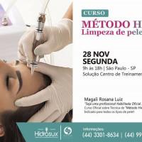 Curso de limpeza de pele MÉTODO HIDROSUX SALÃO DE BELEZA