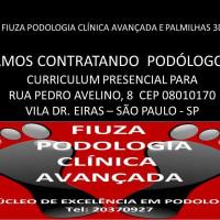 Vaga Emprego Podólogo(a) Vila Doutor Eiras SAO PAULO São Paulo BARBEARIA Fiuza podologia clínica avançada palmilhas 3d
