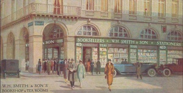 devanture wh smith en 1800