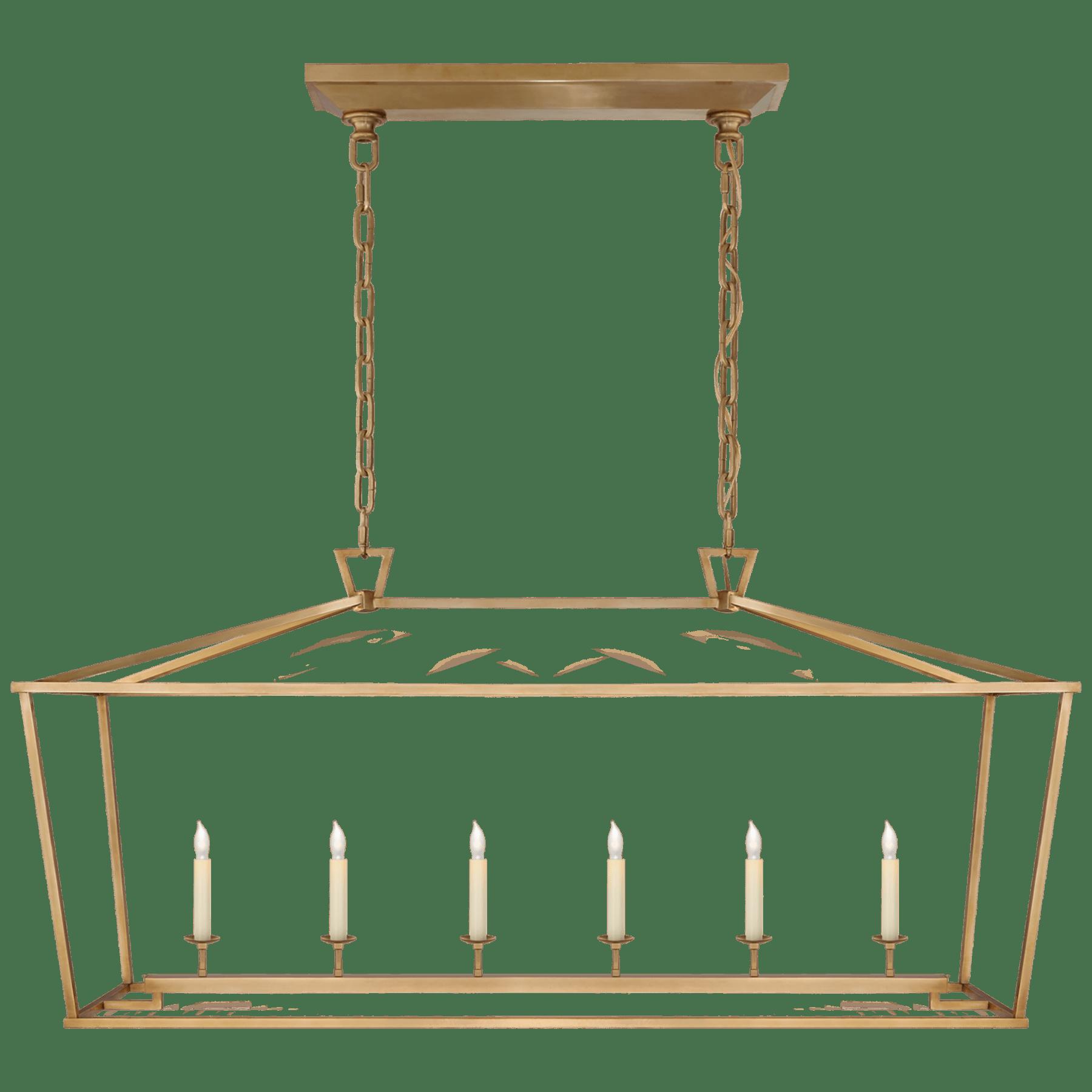 Darlana Large Linear Lantern Circa Lighting