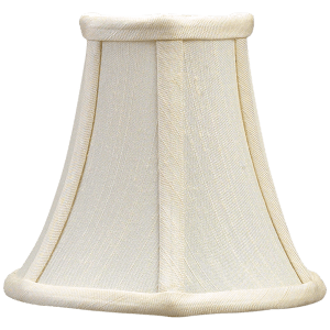 """2.5"""" x 5"""" x 4.5"""" Silk Bell Candle Clip Shade"""