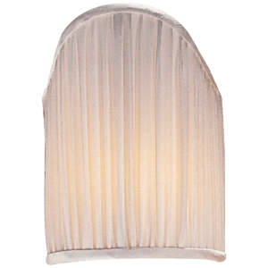 "4"" x 5.5"" Silk Pleated Candle Clip Shield"