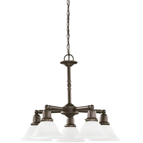 Sussex Five Light Chandelier Heirloom Bronze Bulbs Inc