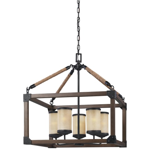 Dunning Five Light Chandelier Stardust