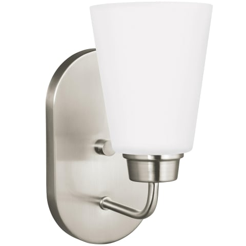 Kerrville One Light Wall / Bath Sconce Brushed Nickel
