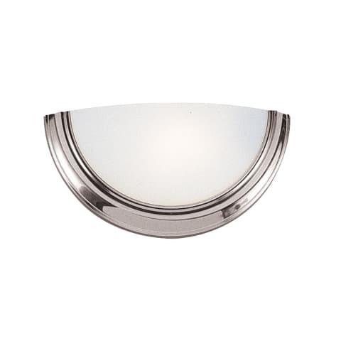 One Light Wall / Bath  Brushed Nickel