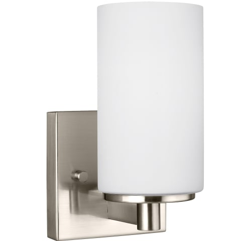 Hettinger One Light Wall / Bath Sconce Brushed Nickel