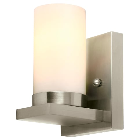 Ellington One Light Wall / Bath Sconce Brushed Nickel Bulbs Inc
