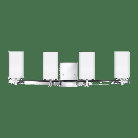 Alturas Four Light Wall / Bath Chrome