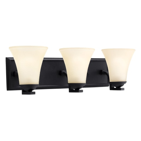 Somerton Three Light Wall / Bath Blacksmith Bulbs Inc
