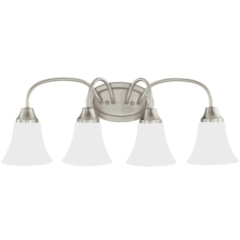 Holman Four Light Wall / Bath Brushed Nickel