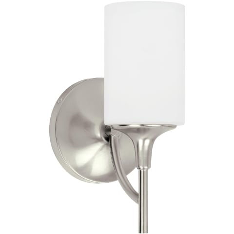 Stirling One Light Wall / Bath Brushed Nickel