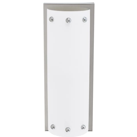 Centra Two Light Wall / Bath Sconce Brushed Stainless Bulbs Inc